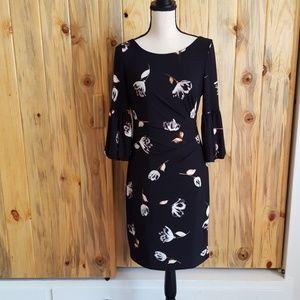 Gorgeous back and floral Ralph Lauren dress